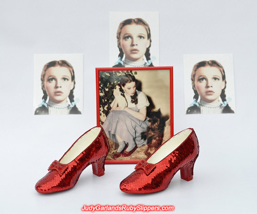 A truly beautiful pair of ruby slippers