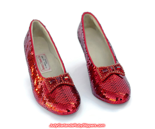 An absolutely breathtaking pair of ruby slippers