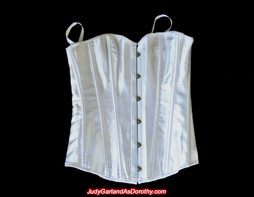 Front of corset as worn by Judy Garland as Dorothy