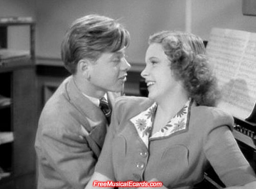 Every woman in the world Judy Garland and Mickey Rooney