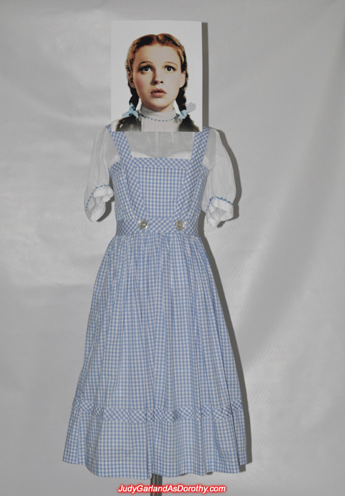 Exact replica of the iconic Dorothy dress worn by Judy Garland