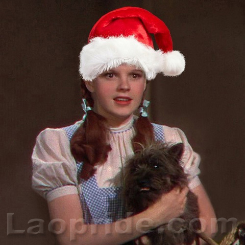 Happy Holidays from Judy Garland and the Lao Pride family