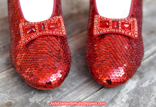 High quality Judy Garland's ruby slippers