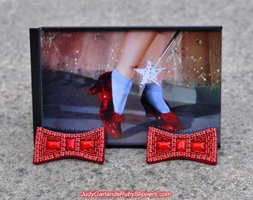 High quality pair of ruby slipper bows