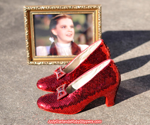 High quality size 5B replica ruby slippers