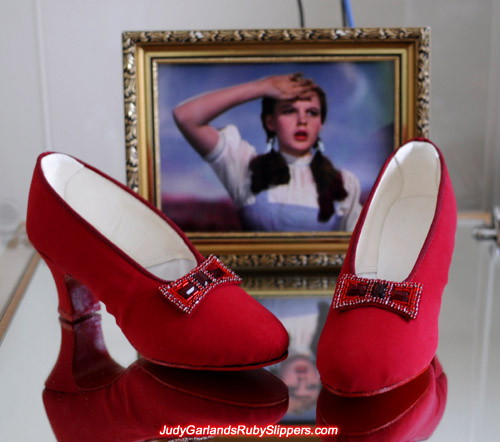 Copy of Innes Shoe Company base shoes for Judy Garland's ruby slippers