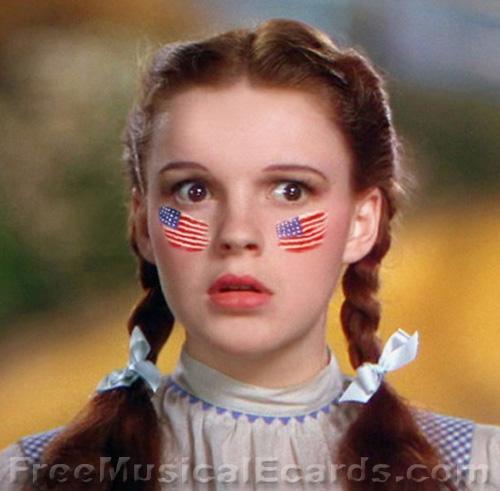 I hate the bastard tax man but I still love America - Judy Garland