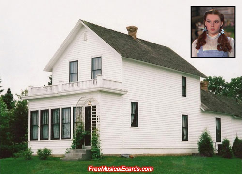 Judy Garland's childhood home in Grand Rapids, Minnesota