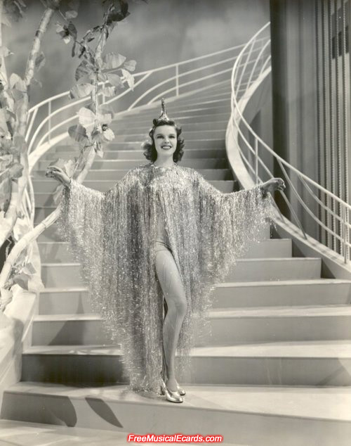 Judy Garland in Ziegfeld Girl