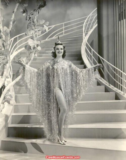 Judy Garland in Ziegfeld Girl