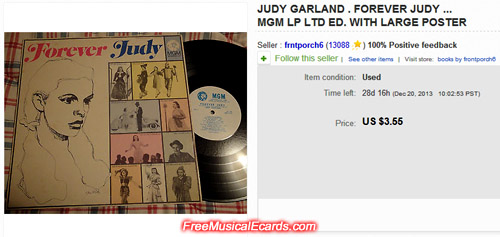 Judy Garland Record