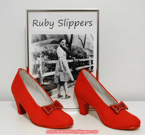 Judy Garland's custom-made size 5B base shoes