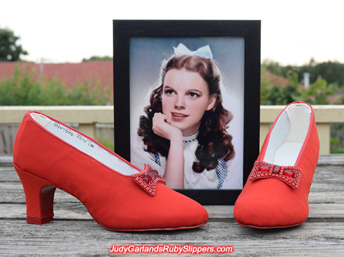 Judy Garland's custom-made size 5B dance shoes