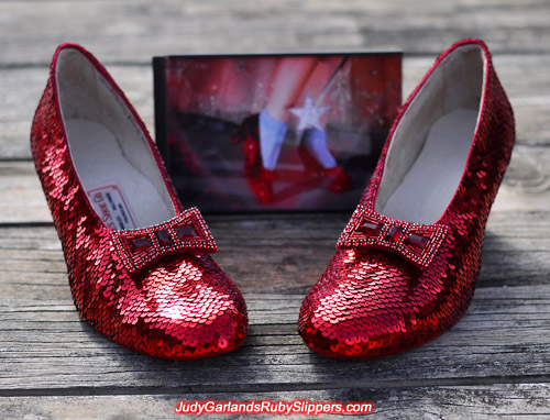 Judy Garland's magical ruby slippers