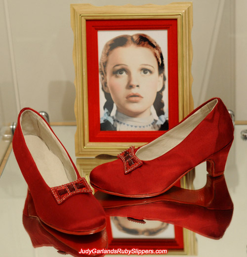 Judy Garland's ruby slipper base shoes