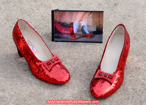 Judy Garland's ruby slippers