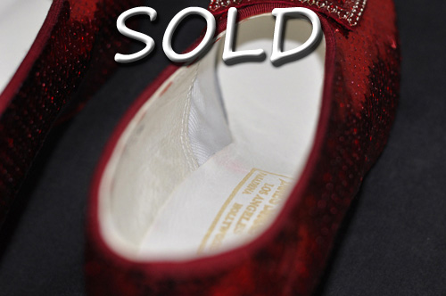 Judy Garland's ruby slippers have found a new home