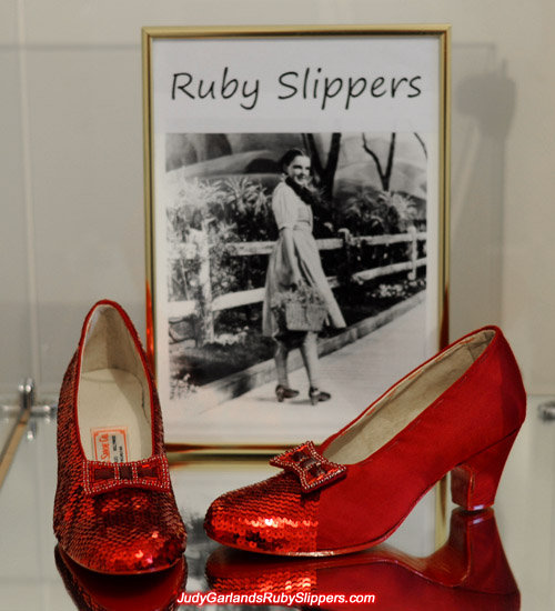Judy Garland's ruby slippers is coming along nicely