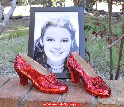 Judy Garland's ruby slippers is drawing to a close