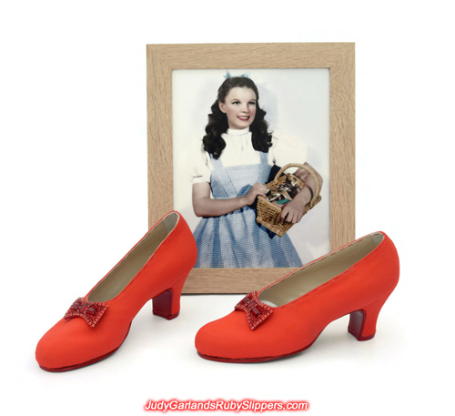 Judy Garland's sexy size 5B base shoes