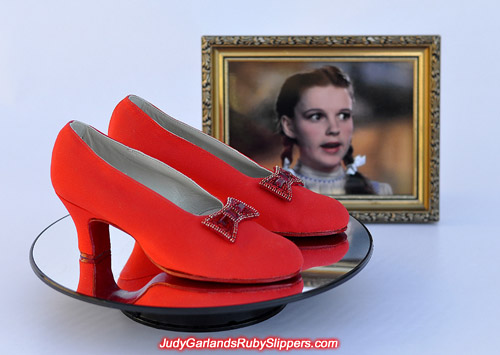 Judy Garland's size 5B 1930's style sexy dance shoes