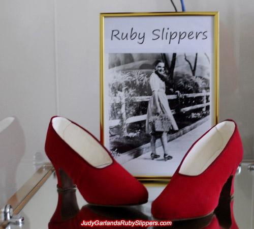 Judy Garland's size 5B base shoes