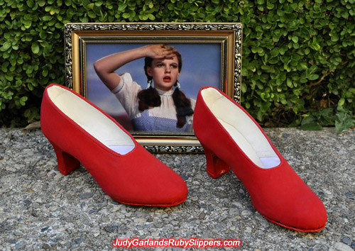 Judy Garland's size 5B base shoes for ruby slipper making