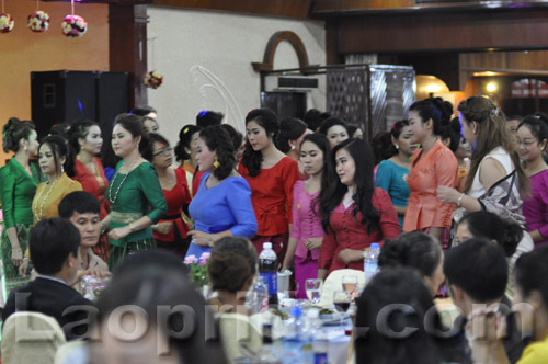 Lao high society ladies