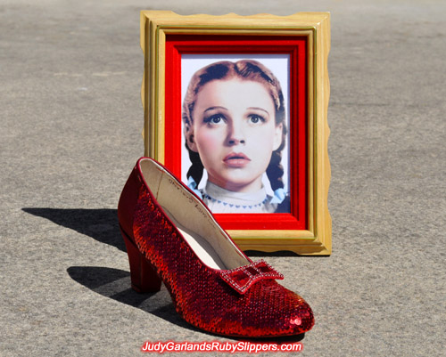 Making Judy Garland's ruby slippers