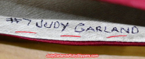 #7 Judy Garland on our ruby slippers