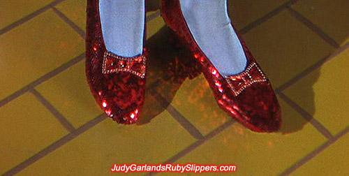 Original pair of ruby slipper bows