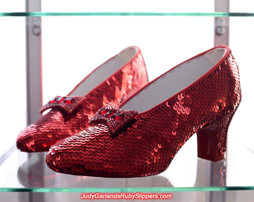 Our final ruby slippers for the year 2015 is finished