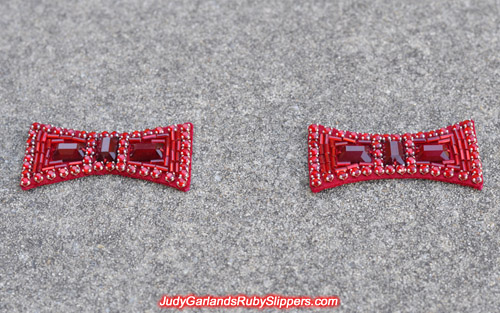 Quality set of ruby slipper bows