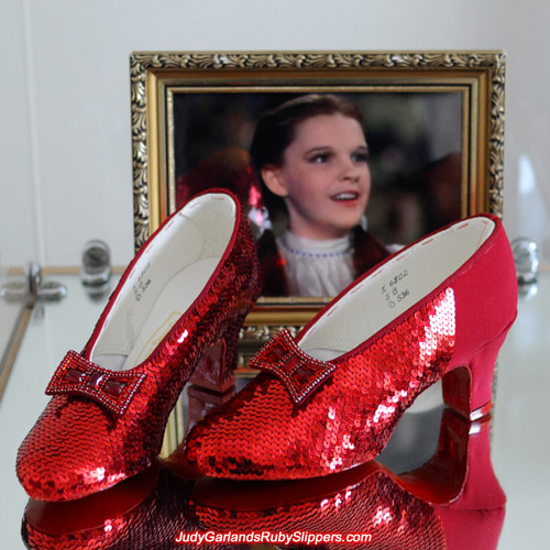 Reaching the homestretch with Judy Garland's ruby slippers