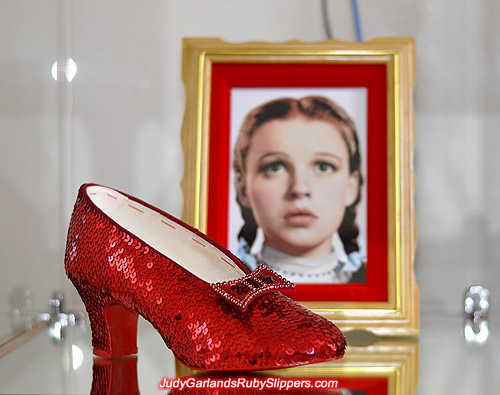 Replicating Judy Garland's magical ruby slippers