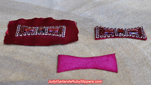 Ruby slipper bow reproduction
