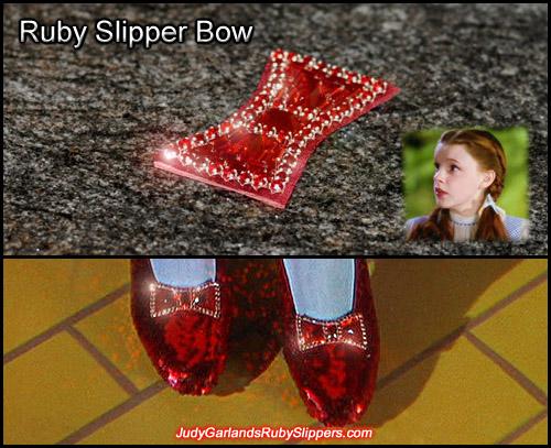 Ruby slipper bow