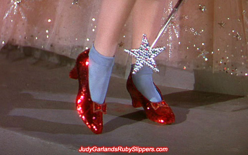 Ruby Slippers worn by Judy Garland as Dorothy