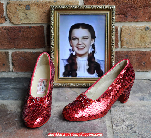 Size 5B replica ruby slippers