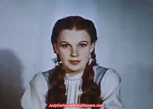The beauty who made the ruby slippers famous