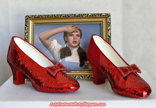 The breathtaking beauty of Judy Garland's ruby slippers