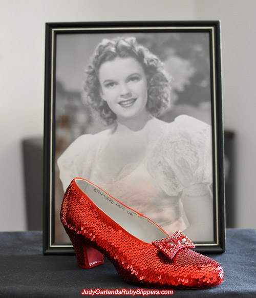 The halfway mark is approaching with Judy Garland's ruby slippers