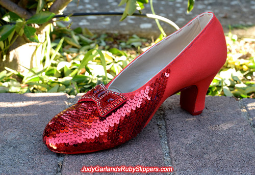 The making of the ruby slippers the same way as the originals