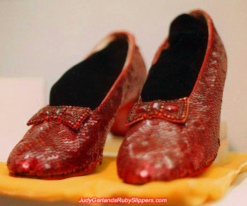 The original ruby slippers