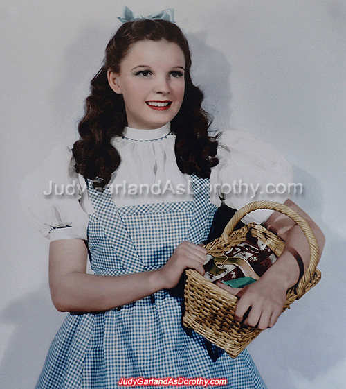 The ruby slippers is dedicated to Judy Garland