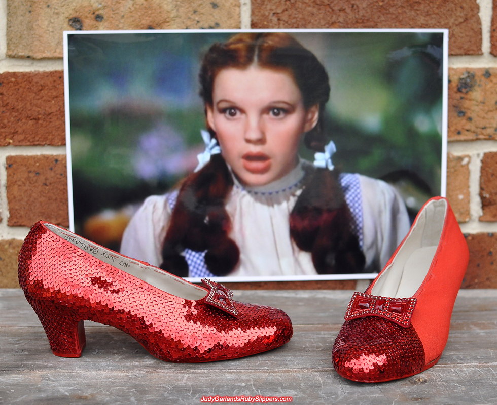 The ruby slippers is nothing short of exquisite