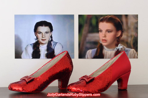 The ruby slippers is starting to take shape and looking very beautiful