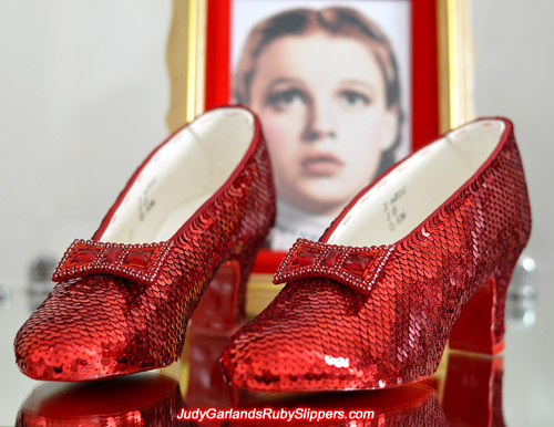 The ruby slippers! What have you done with them? Give them back to me or I'll...!