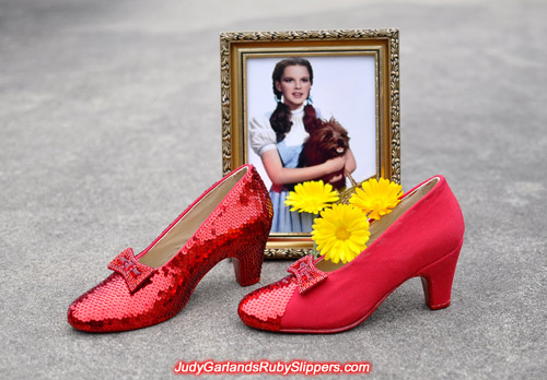 This looks set to be another gem of a pair of ruby slippers