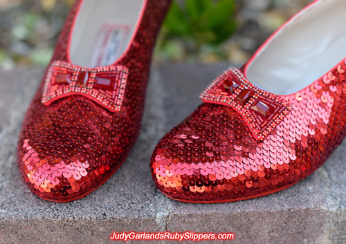 Very impressive ruby slippers near identical to the originals